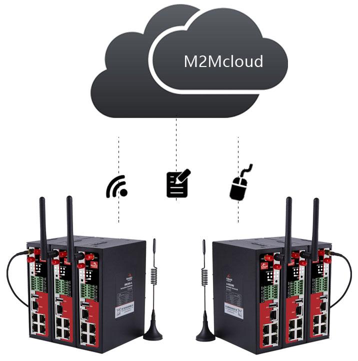 佰马网关远程管理平台,客户可对部署在各地的无线路由器、网关、RTU、数采仪等终端集中管控,包括远程定位、监测、配置、升级、诊断、报警等。极大降低建设方、运营方、维护方的运维成本,提高管理效率。
