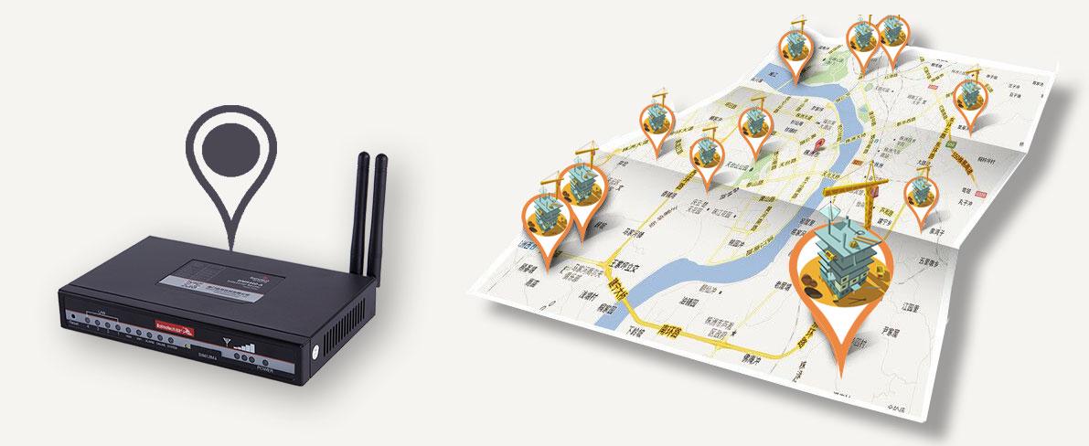 BMR420双卡路由器支持GPS