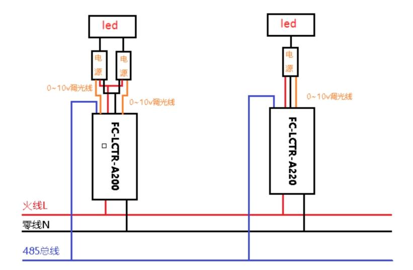 单灯控制器安装后的接线示意图.jpg